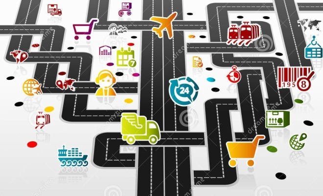 infrastructure-clipart-logistic-infrastructure-complex-colorful-delivery-icon-set-45518178