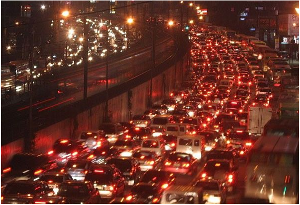 Edsa traffic